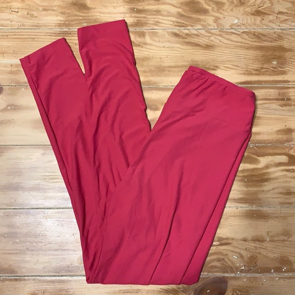 Pink OS leggings